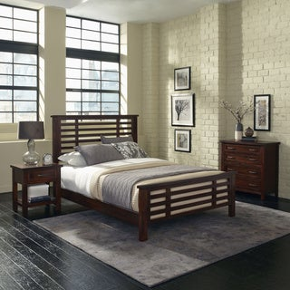 Cabin Creek Queen Bed, Night Stand and Chest