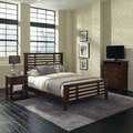 Cabin Creek Queen Bed, Night Stand and Media Chest