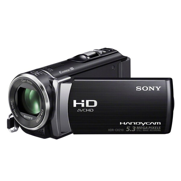 "Sony Handycam HDR-CX210 Digital Camcorder - 2.7"" - Touchscreen LCD -"
