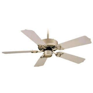 Aztec Lighting Brushed Nickel 5-blade Ceiling Fan