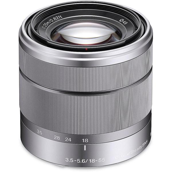 Sony SEL1855 18 mm - 55 mm f/3.5 - 5.6 Lens for Sony E mount (New Non Retail Packaging)