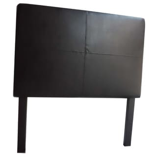 Classic Faux Leather Twin-size Headboard with Nail Head