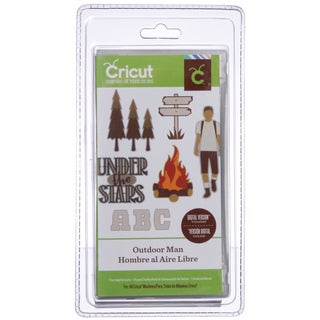 Cricut Outdoor Man Everyday Cartridge