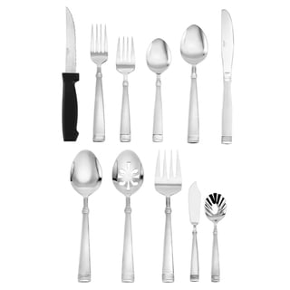 Pfaltzgraff Everyday Palisade 80-piece Flatware Set