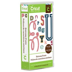 Cricut Extreme Fonts Everyday Cartridge