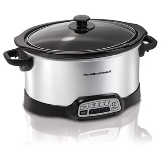 Hamilton Beach 33453 Stainless Steel 5-quart Slow Cooker