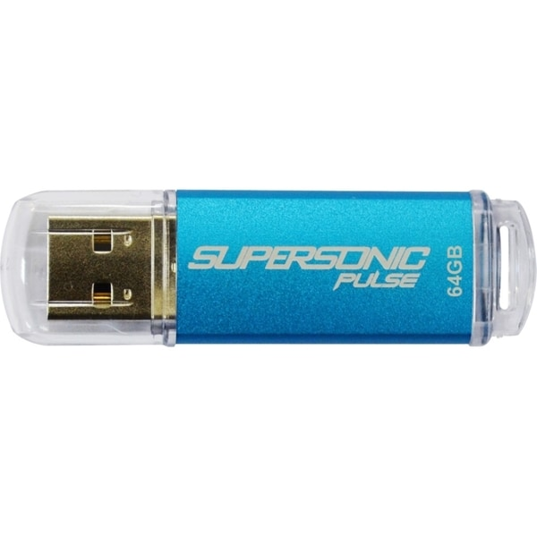 Patriot Memory 64GB Supersonic Pulse USB 3.0 Flash Drive