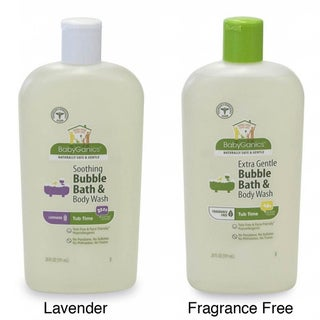 BabyGanics Tub Time 20-ounce Bubble Bath