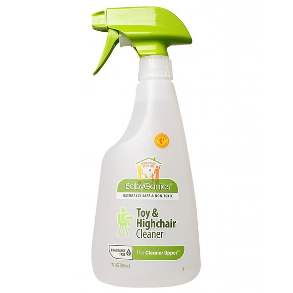 BabyGanics The Cleaner Upper 17-ounce Toy and Highchair Cleaner