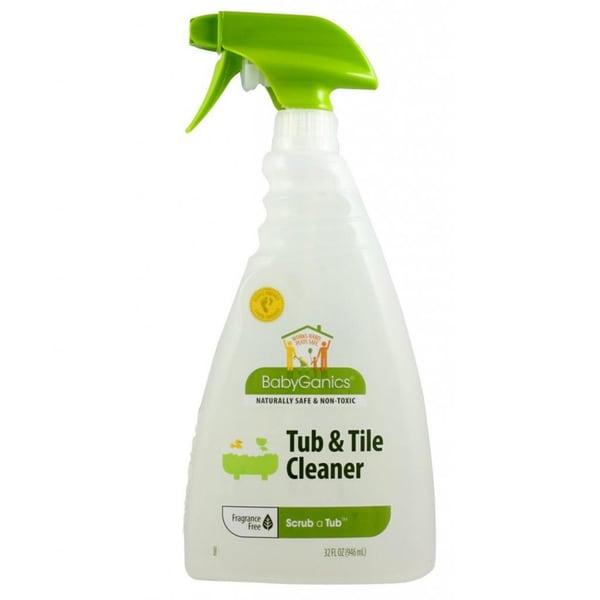 BabyGanics Scrub-a-Tub 32-ounce Tub and Tile Cleaner