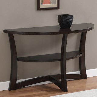 Eclipse Espresso Finish Sofa Table