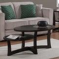 Eclipse Espresso Tiered Coffee Table