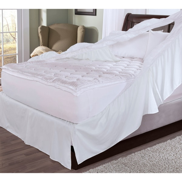 Restonic Easy On Bedskirt and Box Spring Protector