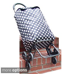 NY Cargo Effortless Stair Climbing Rolling Shopper Tote