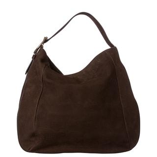 Gucci 'Ribot' Brown Leather Hobo Bag
