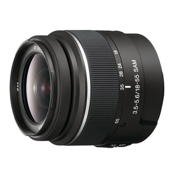 Sony 18-55mm f/3.5-5.6 DT Standard Zoom Lens
