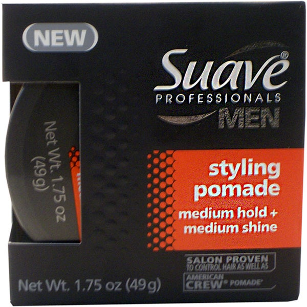 Suave Professionals Men's 1.75-ounce Styling Pomade