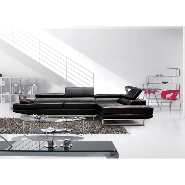 Nova Black Sofa Sectional