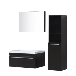 Luna 36-inch Single-sink Bathroom Vanity Set