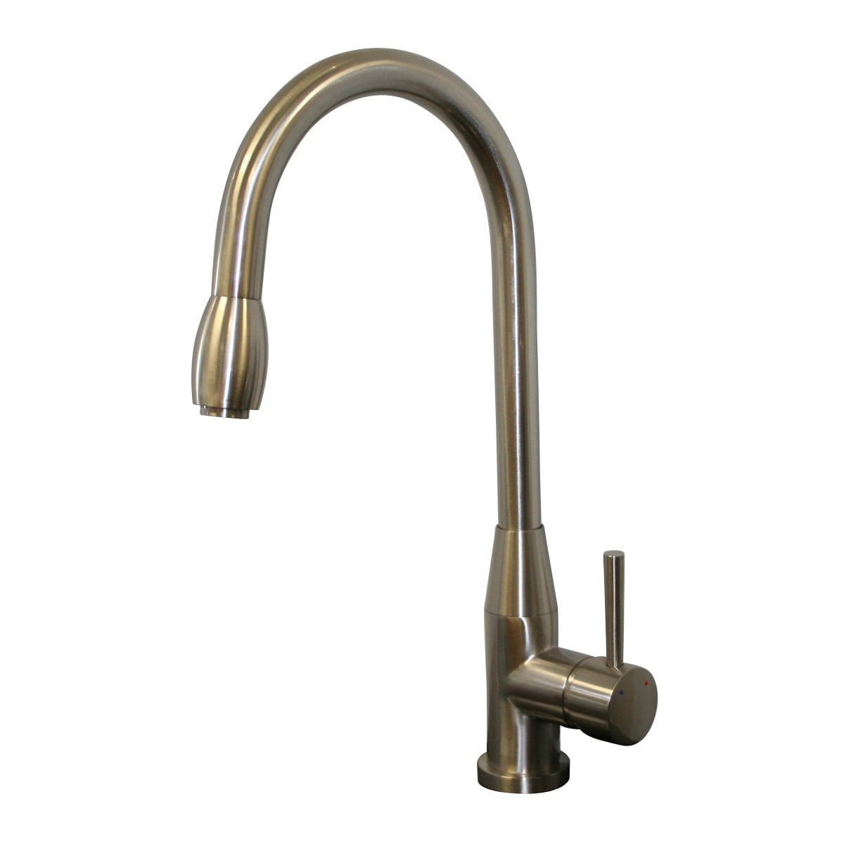 brushed nickel pull down kitchen faucet today