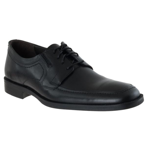 J. Murphy Men's 'Roxton' Black Moc Toe Leather Oxfords