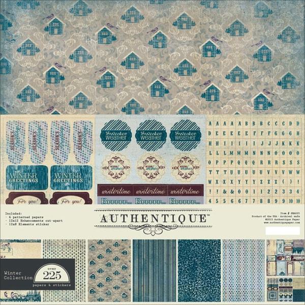 "Seasons Winter Collection Kit 12""X12""-"