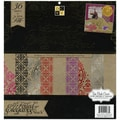 Elegance Paper Stack 12&quot;X12&quot; 48/Sheets-24 Designs/2ea