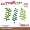 CottageCutz Die 4&quot;X4&quot;-Greenery
