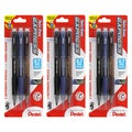 Pentel Twist-Erase Express Jumbo Eraser 0.7-mm Automatic Pencils (Pack of 9)