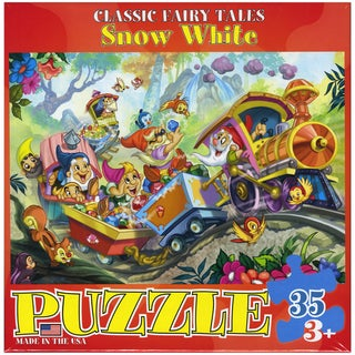 Snow White 35-piece Jigsaw Puzzle (13x10)