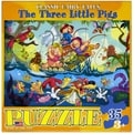 The Three Little Pigs 35-piece Jigsaw Puzzle (13x10)