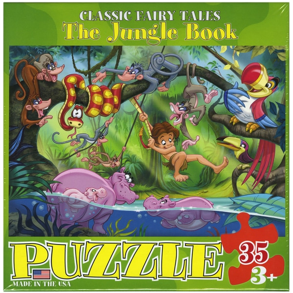 The Jungle Book 35-piece Jigsaw Puzzle (13x10)