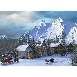 Rocky Mountain Christmas 1000-piece Jigsaw Puzzle (19.25 x 26.5)