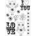 "Suga Pop Clear Stamps 6""X4"" (15.5cm X 10cm)-"