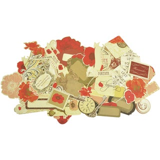 Remember Me Collectables Cardstock Die-Cuts-Over 50 Pieces, Assorted Sizes