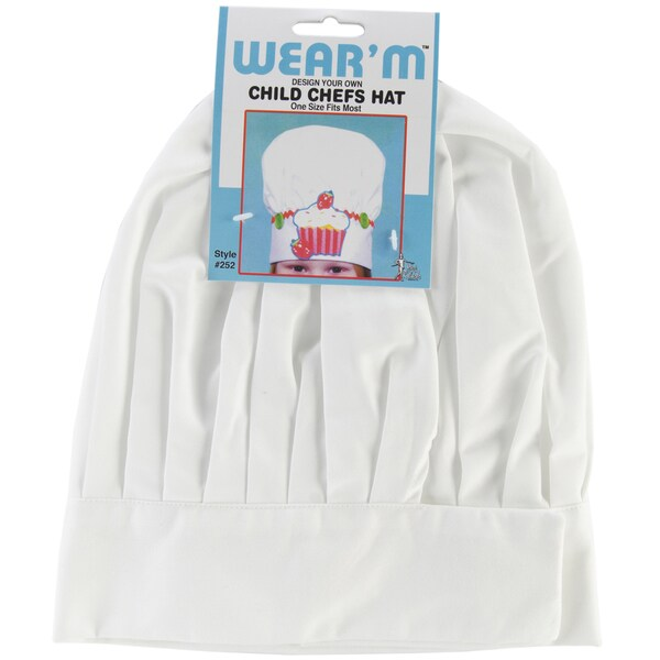 Child Chef Hat-White