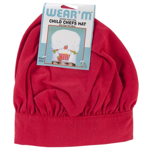 Child Chef Hat-Red