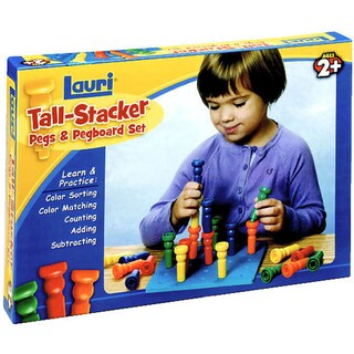 Patch Products Tall Stacker Pegs And Board Set