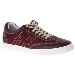 Johnston & Murphy Men's 'Roster' Red Athletic-inspired Lace-up Shoes
