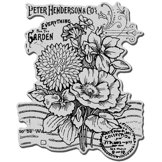 Stampendous Cling Rubber Stamp-Seed Catalog
