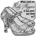 Stampendous Cling Rubber Stamp-Ruby Slippers