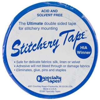 "Stitchery Tape For Framing -1-1/2""X30' Roll"