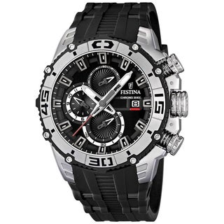 Festina Men's 'Tour De France' Stainless Steel Chrono Watch