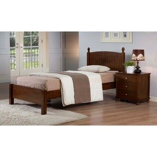 Anderson Walnut Finish Twin Bed