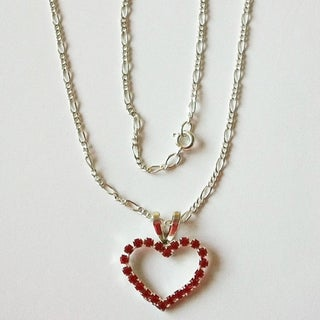 Detti Originals Valentine Red Heart Necklace