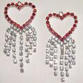 Detti Originals Valentine Crystal Heart Earrings