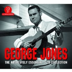 GEORGE JONES - ABSOLUTELY ESSENTIAL 3CD COLLECTION
