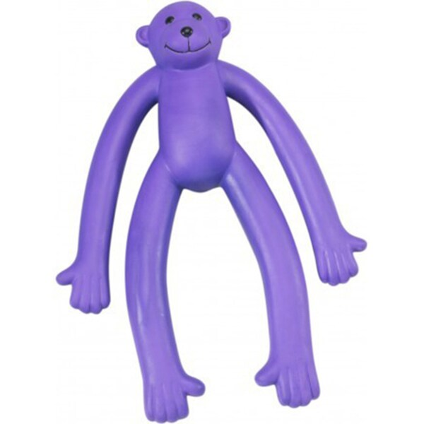 Stretchin' George Latex Monkey Pet Toy