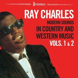 RAY CHARLES - VOL. 1-2-MODERN SOUNDS IN COUNTRY & WESTERN MUSIC