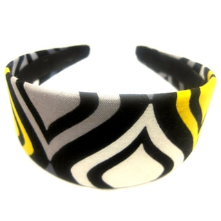 Crawford Corner Shop Black Yellow Grey Headband